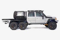 Featured Vehicle: The Patriot Campers Megatourer - Expedition Portal Land Cruiser Pick Up, New Toyota Land Cruiser, 6x6 Truck, Jeep Truck, Ford Trucks, G Klasse 6x6, Landcruiser 79 Series, Landcruiser Ute, Toyota 4x4
