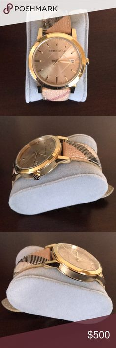 Burberry Watch Signature Burberry Watch Like new!!! Burberry Accessories Watches