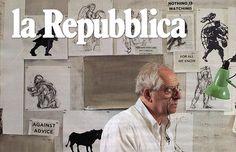 """Barina, Antonella. """"Il Tevere? Una Galleria D'arte,"""" Il Venerdi di Repubblica, February 21, 2014."""