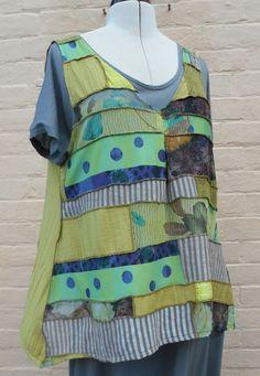 Patchwork Polly Vest pattern