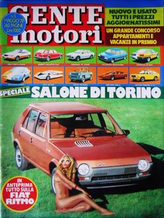 GENTE MOTORI n°5 1978 Fiat Ritmo Fiat, Vehicles, Car, Vehicle, Tools