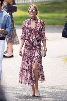 Olivia put one of her own designs on display — a piece from her | Olivia Palermo's 65 Best Dresses | POPSUGAR Fashion Photo 6