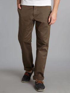 """HUGO BOSS """"Shire-D"""" Men's New Chino Trousers Khaki Pants in Brown 36 52 NWT $145 #HugoBoss #KhakisChinos"""