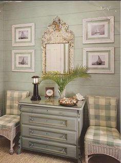 Arredamento in stile provenzale per la casa - Ingresso in stile provenzale