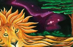 African Savannah  Leo the Lion  Pencil by ShatteredVisAbility