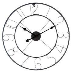 Clayre & Eef webshop voor winkeliers::Meubelen & inrichting::(Klein)meubelen::Klokken::5KL0073 Klok