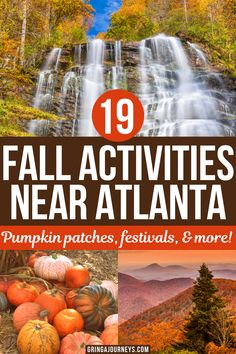 Discover the best fall activities in Georgia, including top pumpkin patches, fall festivals, apple orchards, and fall foliage spots here. | fall in atlanta georgia | fall festivals in georgia 2021 | fall in Georgia | autumn in Georgia | georgia in October | visiting georgia in October | atlanta fall activities | fall activities in atlanta