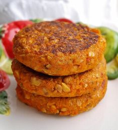 Morotsbiffar med jordnötter – Bakverket Vegetarian Recepies, Vegetarian Cooking, Veggie Recipes, Snack Recipes, Cooking Recipes, Vegetarian Who Eats Fish, Vegan Clean, Prepped Lunches, Swedish Recipes