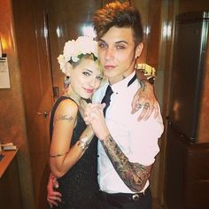 Andy and Juliet Warped Tour prom 2013