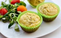 MUFFINS CU DOVLECEI SI BRANZA | Rețete Fel de Fel Muffin, Food And Drink, Cooking Recipes, Breakfast, Salads, Morning Coffee, Chef Recipes, Muffins
