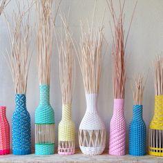 Tressage en cours / Hélène Lefeuvre #basketry #handmade #rotin