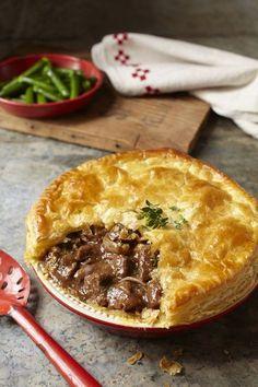 Beef + Stilton pie recipe – to die for! Beef + Stilton pie recipe – to die for! Scottish Recipes, Irish Recipes, Meat Recipes, Cooking Recipes, Recipies, English Recipes, Recipes For Steak, Scottish Meat Pie Recipe, Lamb Pie Recipes