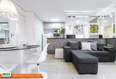 Apartamento decorado 2 quartos do Jardim América no bairro Ernani Sátiro - João Pessoa - PB - MRV Engenharia - Sala.