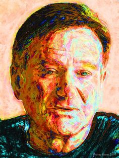 ROBIN WILLIAMS  /// Fine Pop Art Giclee Print on by EisnerArt