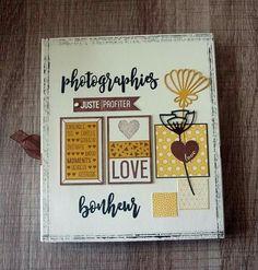 mini album cover Mini Albums, Mini Album Scrap, Photo Album Covers, Album Photos, Project Life, Scrapbooks, Scrapbook Pages, Claire, Card Making