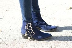 Nail the Trend - How to Wear Ankle Boots and Jeans: Tuck Skinny Jeans Into Ankle Boots