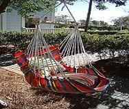 Cómo hacer una silla hamaca oscilante | eHow en Español