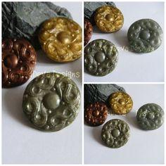 Handmade moulded Elder Scrolls inspired shield pin/brooch