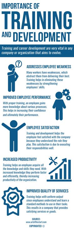 Good training and trainers can motivate employees to work harder thereby increasing their productivity and satisfaction. Goof training also helps address employee weakness and helps them deliver high quality services and products.