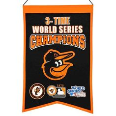 Baltimore Orioles Champions Banner