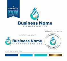 Cleaning logo, House Cleaner Logo, Premade Housekeeper Logo, Cleaning Service Branding, Maid Logo, Cleaning business logo, 4032 Cleaning Service Logo, Cleaning Services, Business Logo, Business Card Design, Housekeeper, Cleaning Business, Branding Kit, Home Logo, Clean House