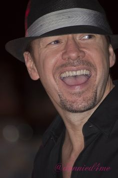 Donnie Wahlberg!! Taken by me on the NKOTB 2011 Cruise :)