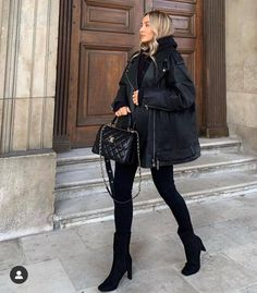 Korean Fashion Dress, Winter Fashion Outfits, Autumn Winter Fashion, Fall Outfits, Modern Outfits, Retro Outfits, Jumpsuits For Girls, My Style, Instagram