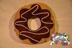 chocolate donuts  #cuscinideliziosi