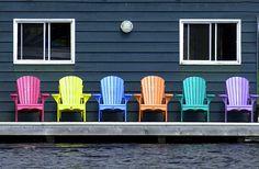 Muskoka Chairs by Andrew_Maidanik, via Flickr