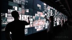 College Football Hall of Fame: Interactive Media Wall