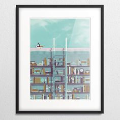 DKNG » Store » Library (Framed)