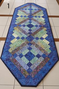 Quilts For Sale, Table Runners, Collaboration, Bohemian Rug, Best Gifts, Handmade Items, Corner, Number, Board