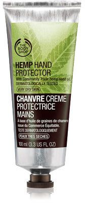 Protect against dry winter hands with The Body Shop Hemp Hand Protector
