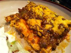 Low Carb Layla: Enchilada Bake - Low Carb! #lowcarb