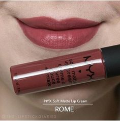 "Nyx Soft Matte Lip cream in ""Rome"" More"