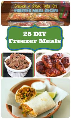 Thrifty Living: DIY Freezer Meals   Simple Beautiful Life