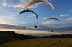 Paragliding, Madeira Island, Portugal