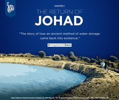 The word johad is hardly heard nowadays. Principally used in Rajasthan, India, Johads are one of the most ancient methods of water storage system. Built as tanks, they used to store rainwater and were a simpler version of rainwater harvesting. #ChaptersOfRains