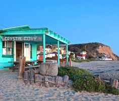Step back in time at Crystal Cove, CA. Featured on Beach Bliss Living: http://beachblissliving.com/the-historic-crystal-cove-beach-cottages-in-southern-california/