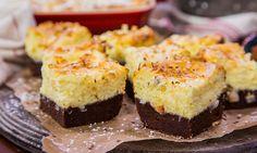 Home & Family - Recipes - Chef Aida Mollenkamp's Coconut Brownie Cheesecake Bars | Hallmark Channel