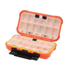 24 Compartments Double Layer Lure Box Fishing Tackle Box Vintage Original X8U7 ** Read more  at the image link.