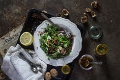 Summer Salad Recipe: Intense Balsamic Lentils & Spinach | Verily