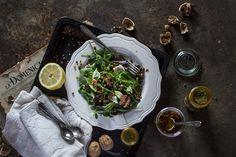 Summer Salad Recipe: Intense Balsamic Lentils & Spinach   Verily