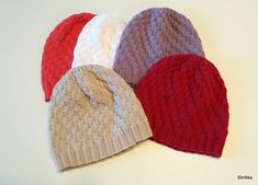 Some Ideas, Knitting Projects, Knitted Hats, Knit Crochet, Winter Hats, Colours, Pattern, Yarns, Crocheting