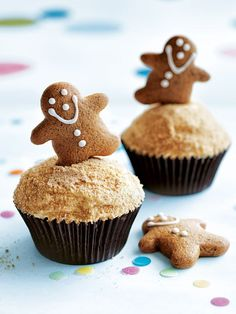 Gingerbread Cupcakes | Donna Hay