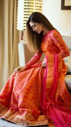 Designer dresses indian, Dresses, Saree dress, Indian designer outfits, Indian d… - TheTellMeWhy Lehenga Designs, Kurta Designs, Indian Attire, Indian Outfits, Indian Wear, Indian Wedding Outfits, Indian Designer Outfits, Designer Dresses, Stylish Dresses