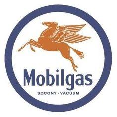 Mobilgas Pegasus Mobil Gas Retro Vintage Tin Sign