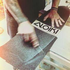 Griptape #longboard #handcraft #wood #skateboard