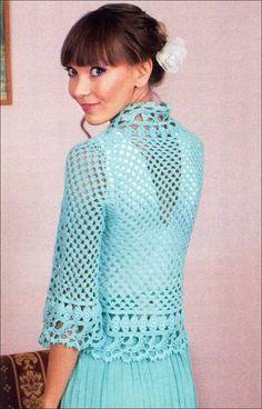 crochet cardigan  free  crochet patterns 453