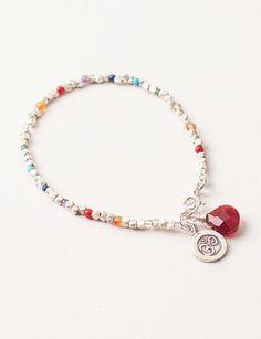 Sivana — OM & Silver Chakra Bracelet